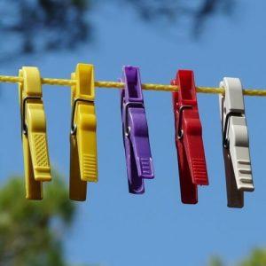 Wäscheklammern